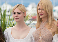 Nicole Kidman &amp; Elle Fanning at the photocall for &quot;The Beguiled&quot; at the 70th Festival de Cannes, Cannes, France. 24 May 2017<br /> Picture: Paul Smith/Featureflash/SilverHub 0208 004 5359 sales@silverhubmedia.com