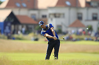 Henrik Stenson (SWE) on the 10th during Round 3 of the Aberdeen Standard Investments Scottish Open 2019 at The Renaissance Club, North Berwick, Scotland on Saturday 13th July 2019.<br /> Picture:  Thos Caffrey / Golffile<br /> <br /> All photos usage must carry mandatory copyright credit (© Golffile | Thos Caffrey)