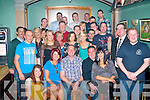 Francis Rusk, Gort Na Graine, Cahermoneen, Tralee (seated centre) celebrated his 40th birthday last Saturday night with a massive party for family and friends in Dowdies bar, Boherbue, Tralee.