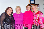 Sheila O'Neill, Nuala Doyle, Lucy Wade and Eleanor Looney  enjoying the Pink Night in Kilcummin Klub bar on Saturday night