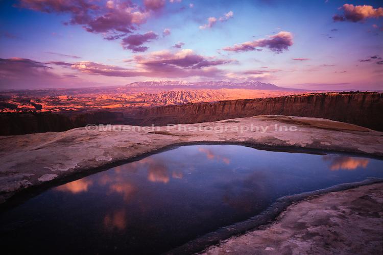 Behind the Rocks,Canyonlands National Park,Utah