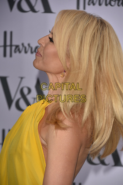 Kylie Minogue at the V&amp;A&rsquo;s summer party at the Victoria and Albert Museum, London, England on June 22, 2016<br /> CAP/PL<br /> &copy;Phil Loftus/Capital Pictures