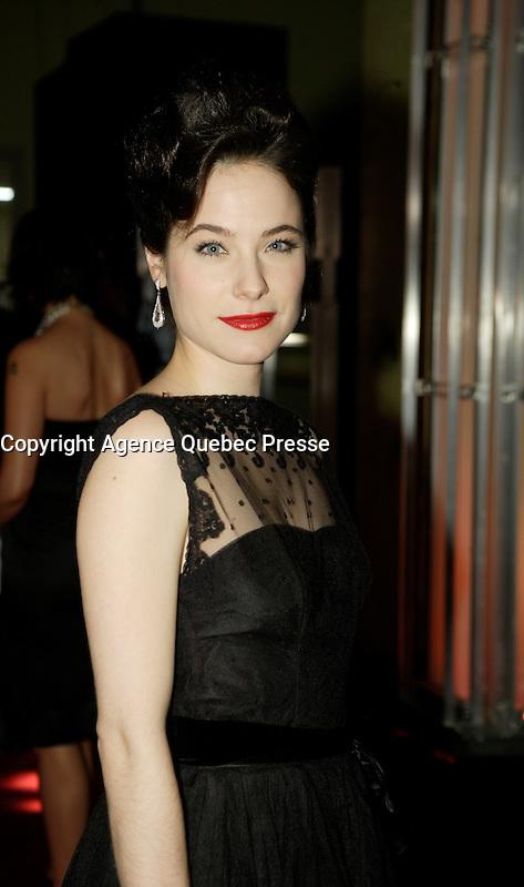 Montreal (Qc) CANADA - March 29 2009 - Jutras award (for Quebec Cinema)  : Caroline Dhavernas, actress