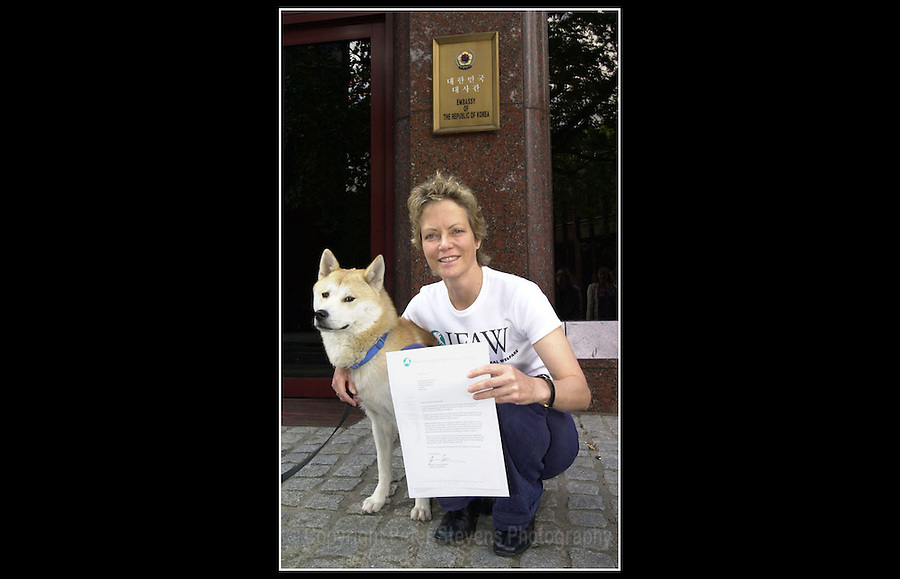 Jenny Seagrove - IFAW - Korean Embassy, London - 16th July 2001