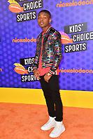 Amarr Wooten at the Nickelodeon Kids' Choice Sports Awards 2018 at Barker Hangar, Santa Monica, USA 19 July 2018<br /> Picture: Paul Smith/Featureflash/SilverHub 0208 004 5359 sales@silverhubmedia.com