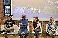 Impact Hub, Digbeth, Birmingham, Refugee Week 19th June 2017, Screening BBC drama Moving On: Eighteen, Q & A  with actor Antonio Aakeel,