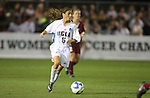07 December 2007: UCLA's Christina DiMartino. The University of Southern California Trojans defeated the University of California Los Angeles Bruins 2-1 at the Aggie Soccer Stadium in College Station, Texas in a NCAA Division I Womens College Cup semifinal game.
