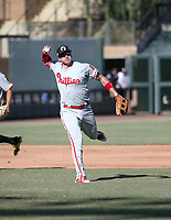Zach Green - Glendale Desert Dogs - 2017 Arizona Fall League (Bill Mitchell)