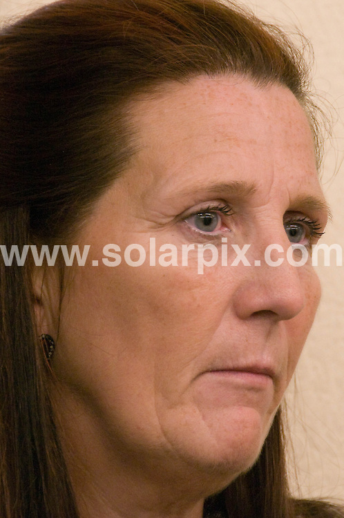 **ALL ROUND PICTURES FROM SOLARPIX.COM**.**WORLDWIDE SYNDICATION RIGHTS**.Celine Conroy's mother, Sandra, waiting outside the courtroom in Elche..JOB REF:  7864    BHY        DATE: 12.11.08.**MUST CREDIT SOLARPIX.COM OR DOUBLE FEE WILL BE CHARGED* *UNDER NO CIRCUMSTANCES IS THIS IMAGE TO BE REPRODUCED FOR ANY ONLINE EDITION WITHOUT PRIOR PERMISSION*
