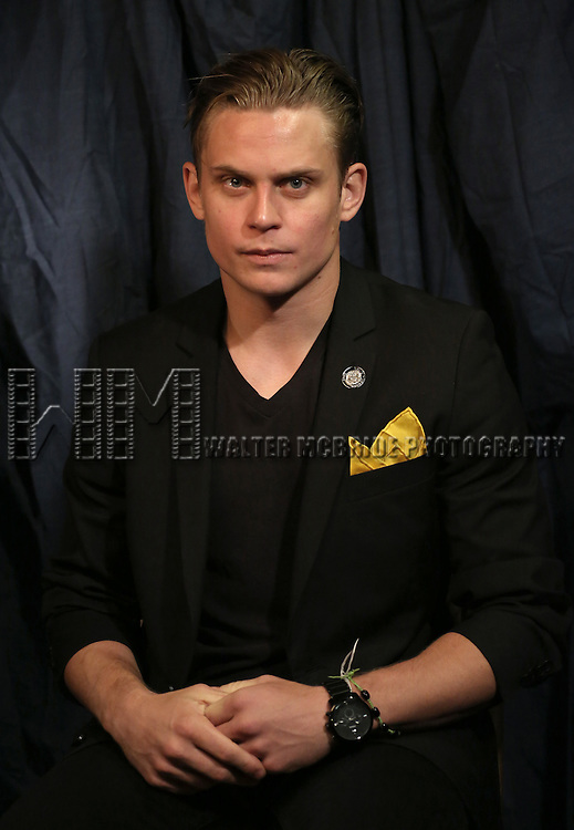 Billy Magnussen  'In The Spotlight' at the 2013 Tony Awards Meet The Nominees Junket  at the Millennium Broadway Hotel in New York on 5/1/2013...