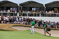 Louis Oosthuizen (International) on the 10th green during the Second Round - Foursomes of the Presidents Cup 2019, Royal Melbourne Golf Club, Melbourne, Victoria, Australia. 13/12/2019.<br /> Picture Thos Caffrey / Golffile.ie<br /> <br /> All photo usage must carry mandatory copyright credit (© Golffile | Thos Caffrey)