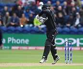 Jun 6th, The SSE SWALEC, Cardiff, Wales; ICC Champions Trophy; England versus New Zealand; Ross Taylor of New Zealand plays the ball