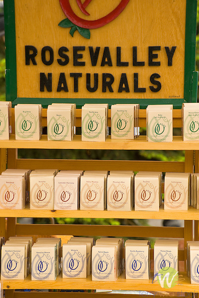 Rose Valley Natural soaps at the Williamsport Growers Market