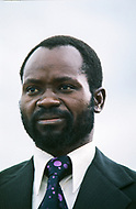 26 Jun 1975, Mozambique --- Samora Machel, commander-in-chief of the Front for the Liberation of Mozambique (FRELIMO). He became independent Mozambique's first president on June 25, 1975. | Location: Lourenco Marques, Mozambique. --- Image by © JP Laffont