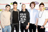 PHILADELPHIA, PA - DECEMBER 5 :  The Wanted pictured on the red carpet at Q 102's Jingle Ball 2012 presented by Xfinity at the Wells Fargo Center in Philadelphia, Pa on December 5, 2012  © Star Shooter / MediaPunch Inc /NortePhoto©