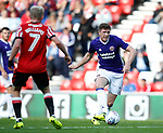 John Lundstram of Sheffield Utd  during the Championship match at the Stadium of Light, Sunderland. Picture date 9th September 2017. Picture credit should read: Simon Bellis/Sportimage