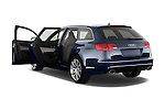 Rear three quarter door view of a 2008 - 2013 Audi RS6 5 Door Wagon 4WD.