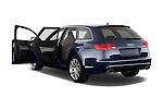 Rear three quarter door view of a 2008 - 2013 Audi RS6 5 Door Wagon 4WD.