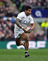 Manu Tuilagi in possession. RBS Six Nations match between England and Italy on March 10, 2013 at Twickenham Stadium in London, England. Photo by: Patrick Khachfe / Onside Images