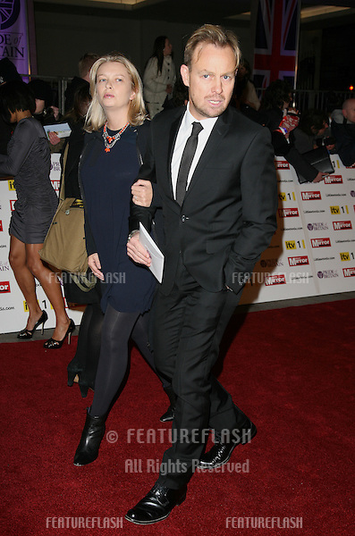Jason Donovan and wife arriving for the 2010 Pride Of Britain Awards, at the Grosvenor House Hotel, London. 08/11/2010  Picture by: Alexandra Glen / Featureflash