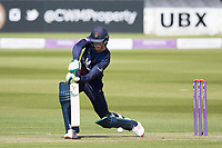 Keaton Jennings of Lancashire CCC drives uppishly in front of point during Middlesex vs Lancashire, Royal London One-Day Cup Cricket at Lord's Cricket Ground on 10th May 2019