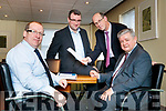 Pictured at County Buildings, Rathass, Tralee, on Friday last, at the announcement of the 5 million investment in Irish Water Network upgrades, were l-r: John Kennelly (Senior Engineer Kerry County Council), Steven Blennerhassett (Water Networks Programme Irish Water) John Breen Services (Director of Services) and Paul Moroney (Programme Manager Networks Southern Region Irish Water).