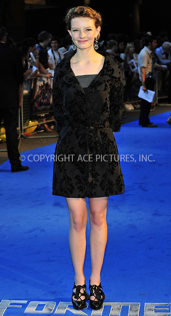 WWW.ACEPIXS.COM . . . . .  ..... . . . . US SALES ONLY . . . . .....June 26 2011, London....Dakota Blue Richards at the premiere of 'Transformers: Dark Of The Moon' at the BFI IMAX on June 26 2011 in London....Please byline: FAMOUS-ACE PICTURES... . . . .  ....Ace Pictures, Inc:  ..Tel: (212) 243-8787..e-mail: info@acepixs.com..web: http://www.acepixs.com