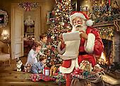 Interlitho, CHRISTMAS SANTA, SNOWMAN, WEIHNACHTSMÄNNER, SCHNEEMÄNNER, PAPÁ NOEL, MUÑECOS DE NIEVE, paintings+++++,santa, liste, kinder,KL6044,#x# ,Simonetta,itdp