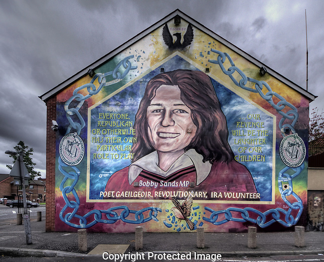 "Despite an undistinguished career in the IRA prior to his arrest, Bobby Sands became a hugely important symbol once he wound up in the Maze Prison.  He led the 1981 Hunger Strikes that left him and nine other Republican prisoners dead.  But not before he got elected to Parliament (people believed that if they elected him, Margaret Thatcher would not let a ""colleague"" die in prison...they guessed wrong about that).  Sands and the others played a crucial role in re-energizing the IRA both militarily and politically and he remains a beloved figure for it almost thirty years on."