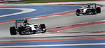 Formula 1 United States Grand Prix 2014, 31.10.-02.11.14<br /> Nico Rosberg(GER#6), Mercedes AMG Petronas F1 Team, Lewis Hamilton (GB#44), Mercedes AMG Petronas F1 Team<br /> Foto &copy; nordphoto /  Bratic