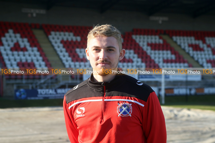 New signing Jake Sheppard pictured before Dagenham & Redbridge vs Bromley, Vanarama National League Football at the Chigwell Construction Stadium on 21st January 2017