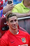 Atletico de Madrid´s Fernando Torres before 2015-16 La Liga match at Vicente Calderon stadium in Madrid, Spain. MONTH XX, 2015. (ALTERPHOTOS/Victor Blanco)