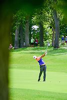 Min Seo Kwak (KOR) watches her approach shot on 16 during Thursday's round 1 of the 2017 KPMG Women's PGA Championship, at Olympia Fields Country Club, Olympia Fields, Illinois. 6/29/2017.<br /> Picture: Golffile | Ken Murray<br /> <br /> <br /> All photo usage must carry mandatory copyright credit (&copy; Golffile | Ken Murray)
