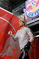 Harrison, NJ - Tuesday April 10, 2018: Ryan Meara prior to leg two of a  CONCACAF Champions League semi-final match between the New York Red Bulls and C. D. Guadalajara at Red Bull Arena. C. D. Guadalajara defeated the New York Red Bulls 0-0 (1-0 on aggregate).
