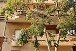 Israel, Tel Aviv. Rosenwasser house, a Bauhaus style building