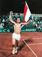 930322 Daviscup Spain-Netherlands
