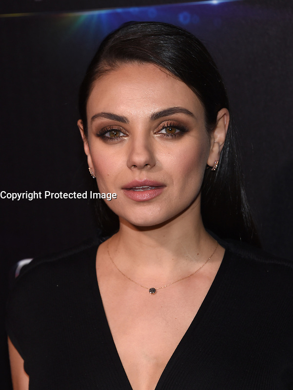 Mila Kunis @ the photocall for STX Films 'The State of the Industry: Past, Present and Future' held @ The Colosseum at Caesars Palace.<br /> March 28, 2017 , Las Vegas, USA. # CINEMA CON 2017 - PHOTOCALL 'THE STATE OF THE INDUSTRY'
