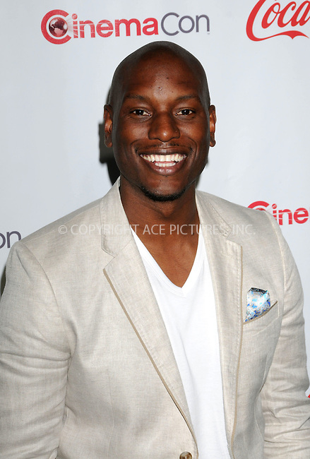 WWW.ACEPIXS.COM . . . . .  ..... . . . . US SALES ONLY . . . . .....April 26 2012, Las Vegas....Tyrese Gibson at the CinemaCon Awards held at Caesars Palace Hotel on April 26 2012 in Las Vegas....Please byline: FAMOUS-ACE PICTURES... . . . .  ....Ace Pictures, Inc:  ..Tel: (212) 243-8787..e-mail: info@acepixs.com..web: http://www.acepixs.com