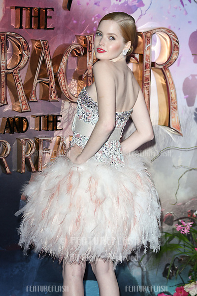 "LONDON, UK. November 01, 2018: Ellie Bamber at the European premiere of ""The Nutcracker and the Four Realms"" at the Vue Westfield, White City, London.<br /> Picture: Steve Vas/Featureflash"