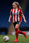 Olivia Fergusson of Sheffield United during the The FA Women's Championship match at the Proact Stadium, Chesterfield. Picture date: 12th January 2020. Picture credit should read: James Wilson/Sportimage
