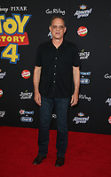 "11 June 2019 - Hollywood, California - Tom Hanks. Premiere Of Disney And Pixar's ""Toy Story 4""  held at El Capitan theatre. Photo Credit: Faye Sadou/AdMedia"
