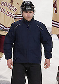 Peter Feola - The Boston College Eagles defeated the University of Denver Pioneers 6-2 in their NCAA Northeast Regional semi-final on Saturday, March 29, 2014, at the DCU Center in Worcester, Massachusetts.