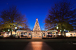 Charlotte NC -  Birkdale Village decorated for Christmas