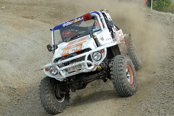 Custom 4x4 racing at the Rallye Dresden Breslau 2007. --- No releases available. Automotive trademarks are the property of the trademark holder, authorization may be needed for some uses.