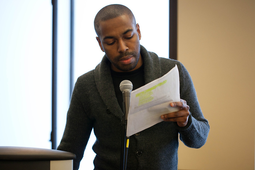 MLK Speeches, Steven Martin, 1/21/14, Martin Luther King Jr., dinning hall