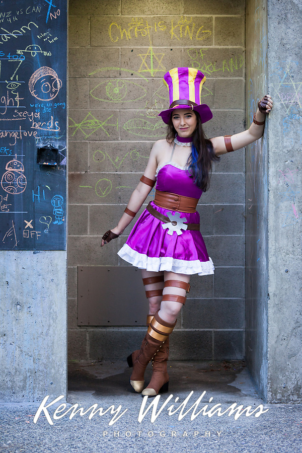 Caitlyn, League of Legends Cosplay, Pax West 2017, Seattle, WA, USA.