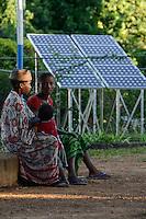 MADAGASCAR, Mananjary region, solar system for hospital of missionary station / MADAGASKAR Mananjary, Solar system eines Krankenhaus einer Missionsstation