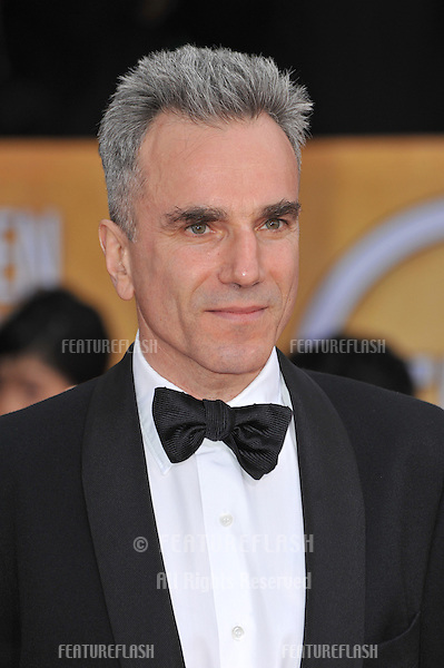 Daniel Day Lewis at the 19th Annual Screen Actors Guild Awards at the Shrine Auditorium, Los Angeles..January 27, 2013  Los Angeles, CA.Picture: Paul Smith / Featureflash