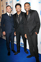 LOS ANGELES - DEC 5: Austin Hebert, Nathan Davis Jr, Malcolm David Kelley at The Actors Fund's Looking Ahead Awards at the Taglyan Complex on December 5, 2017 in Los Angeles, California