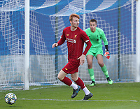 20191023 - Genk: Liverpool's Sepp Van Den Bergh is  pictured during the UEFA Youth League group stages match between KRC Genk Youth and Liverpool FC on October 23, 2019 at KRC Genk Stadium Arena B, Genk, Belgium. PHOTO:  SPORTPIX.BE | SEVIL OKTEM